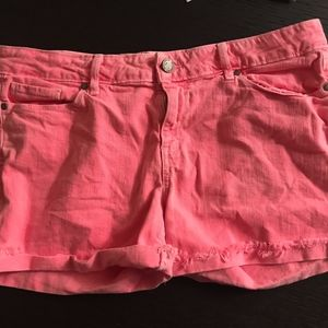 Paige Neon Pink Shorts